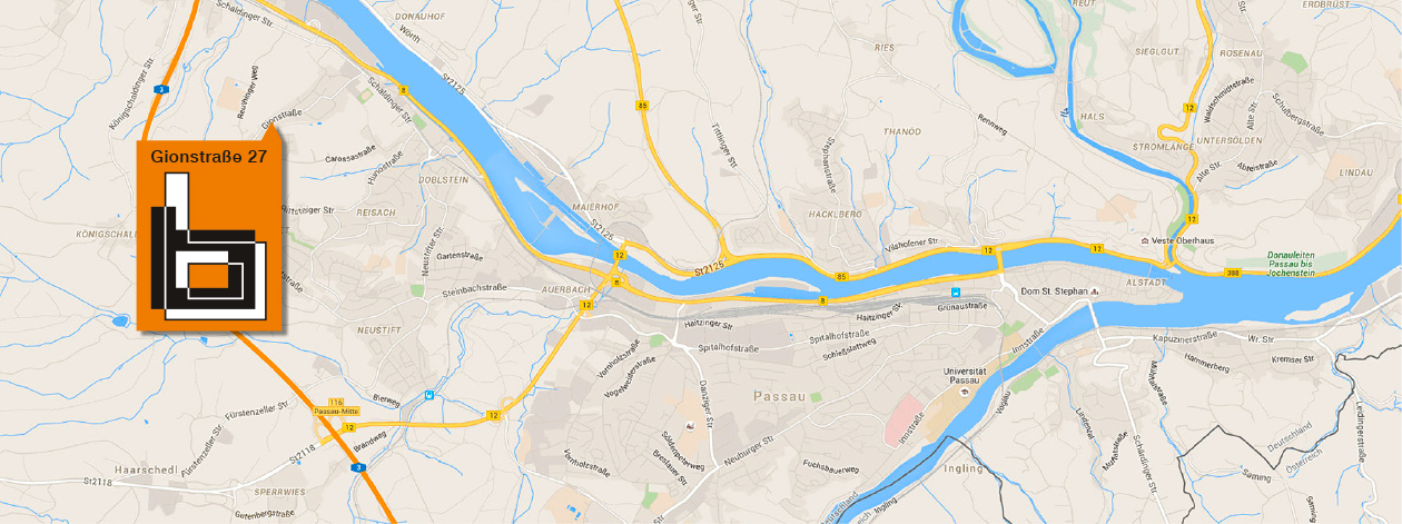 Bergander Bau Map Lage